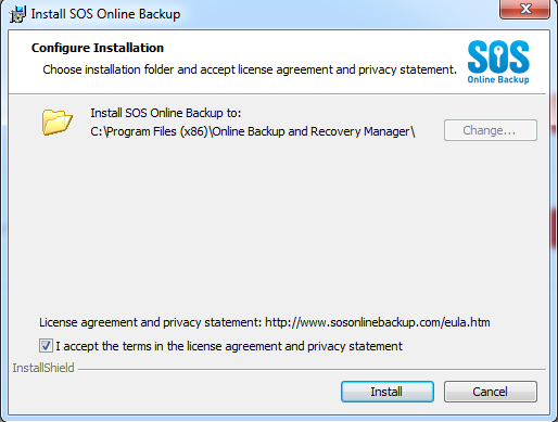 Changing over from Malwarebytes Secure Backup to Cloud